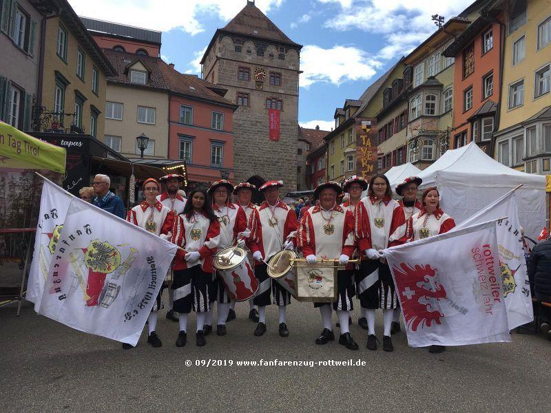 Eröffnung Stadtfest Rottweil